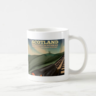 Scotland Travel Poster Coffee Mug