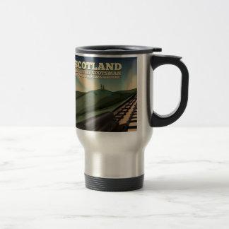 Scotland Travel Poster Travel Mug