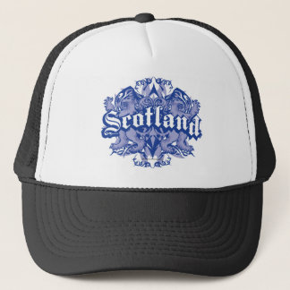 Scotland Tribal Trucker Hat