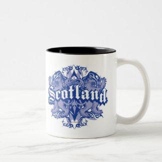 Scotland Tribal Two-Tone Coffee Mug