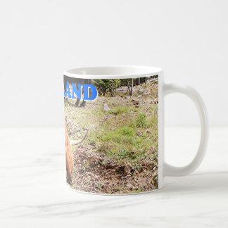 Scotland: two highland cattle coffee mug