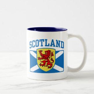 Scotland Two-Tone Coffee Mug