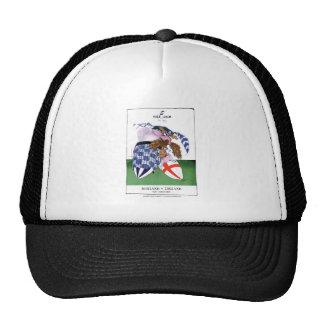 scotland v england balls, tony fernandes trucker hat
