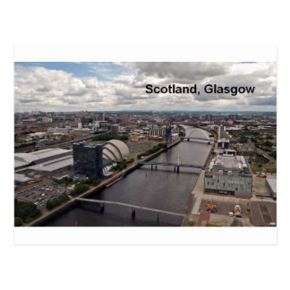 Scotland view from glasgow tower (St.K.) Post Card