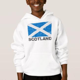 Scotland Vintage Flag Hoodie