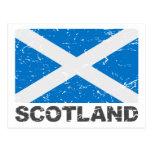 Scotland Vintage Flag Post Cards