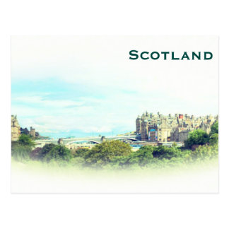 Scotland Vintage Tourism Travel Add Postcard