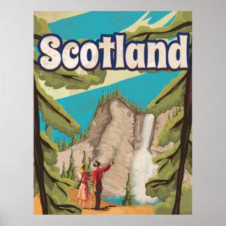 Scotland Vintage Travel Poster