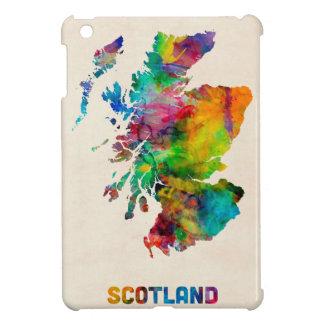 Scotland Watercolor Map iPad Mini Covers