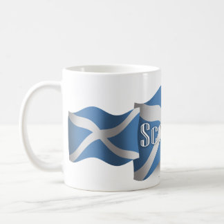 Scotland Waving Flag Coffee Mug