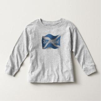 Scotland Waving Flag Tee Shirt