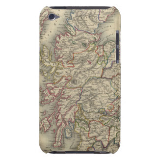 Scotland with inset map of the Shetland Islands Barely There iPod Case