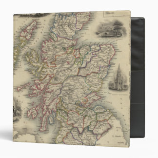 Scotland with inset map of the Shetland Islands Binder