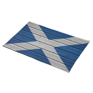 Scotland  Wooden Plank Texture Placemat