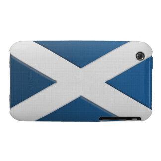 Scotland's Flag of St Andrew Patriotic Phone Case iPhone 3 Case-Mate Cases
