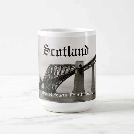 Scotland's Fourth Bridge Coffee Mug