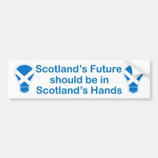 Scotland's Future Scottish Independence Sticker Bumper Stickers