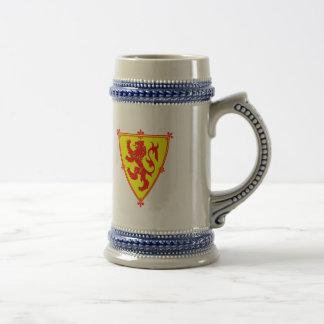 Scotland's Lion Rampant Beer Stein