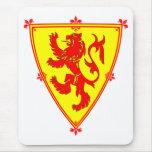Scotland's Lion Rampant Mouse Pad