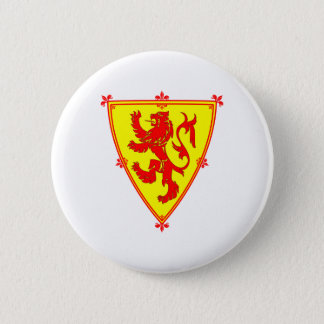 Scotland's Lion Rampant Pinback Button