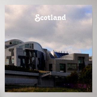 Scotland's Parliament Poster