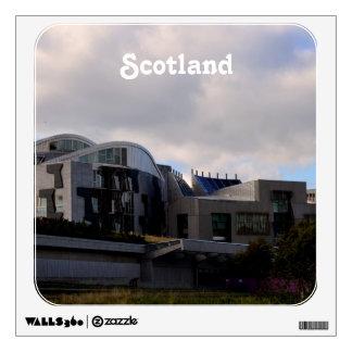 Scotland's Parliament Room Stickers