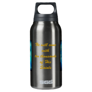 Scotlands Pipers, with ten thousands of His Saints Insulated Water Bottle