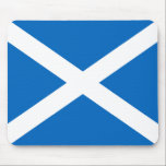 "Scotland&#39;s Saltire,Scottish Flag (Official Colour) Mouse Pad<br><div class=""desc"">Scotland&#39;s Saltire, Scottish Flag Using the Official Colour of the flag.</div>"