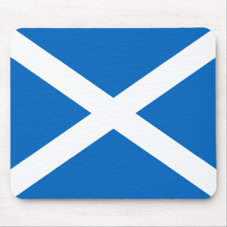 Scotland's Saltire,Scottish Flag (Official Colour) Mouse Pad