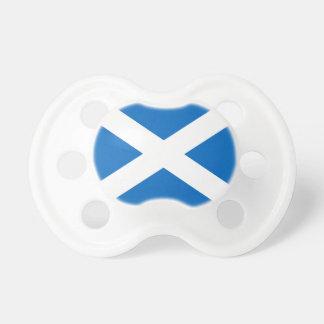 Scotland's Saltire,Scottish Flag (Official Colour) Pacifier