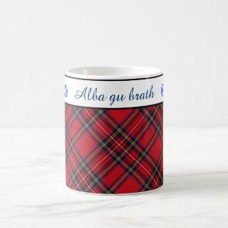 Scots Gaelic Royal Stewart Tartan Coffee Mug
