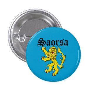 Scots Gaelic Saorsa Freedom Lion Pinback Button