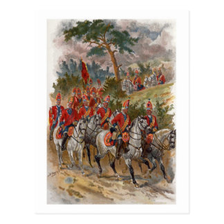 Scots Greys Postcard