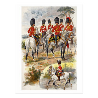 Scots Greys Post Card
