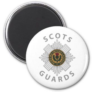 Scots Guards 2 2 Inch Round Magnet