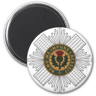Scots Guards 2 Inch Round Magnet