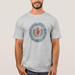 dab78746429 Scots-Irish   Ulster-Scots (distressed design) T-Shirt