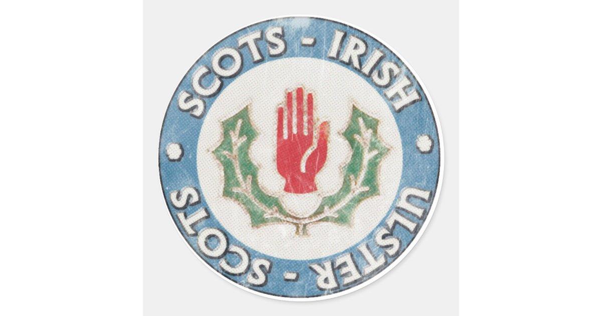 Scots Irish Ulster Scots Stickers Zazzle