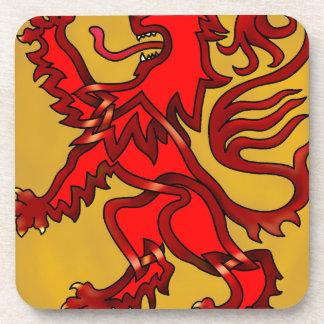 Scots Lion Beverage Coaster