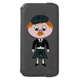 Scotsman del Wee de Bonnie Funda Billetera Para iPhone 6 Watson