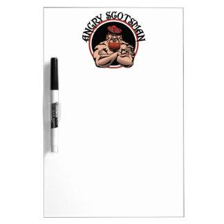Scotsman enojado 2015 tablero blanco