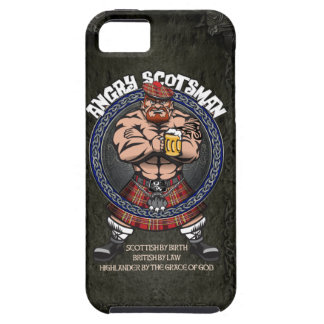 Scotsman enojado Iphone Funda Para iPhone SE/5/5s