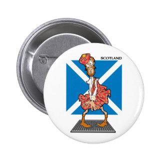 ¿Scotsman verdadero? Pin Redondo De 2 Pulgadas