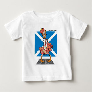 ¿Scotsman verdadero? Playera De Bebé
