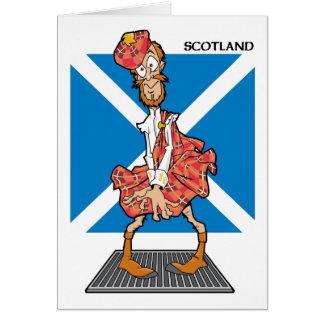 ¿Scotsman verdadero? Tarjeta De Felicitación
