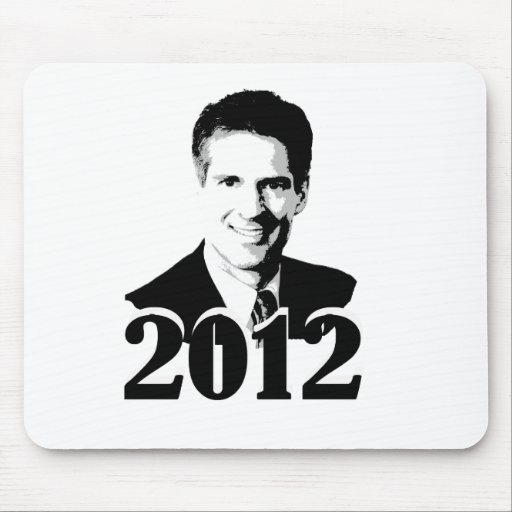SCOTT BROWN 2012 MOUSE PAD