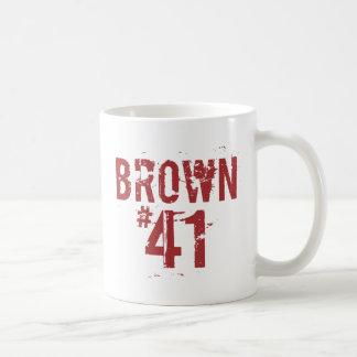 Scott BROWN #41 Coffee Mug