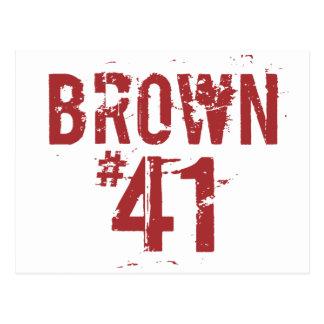 Scott BROWN #41 Postcard