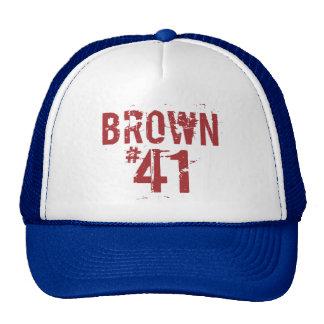 Scott BROWN #41 Trucker Hat