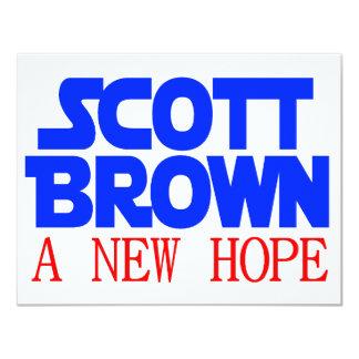 Scott Brown A New Hope 4.25x5.5 Paper Invitation Card